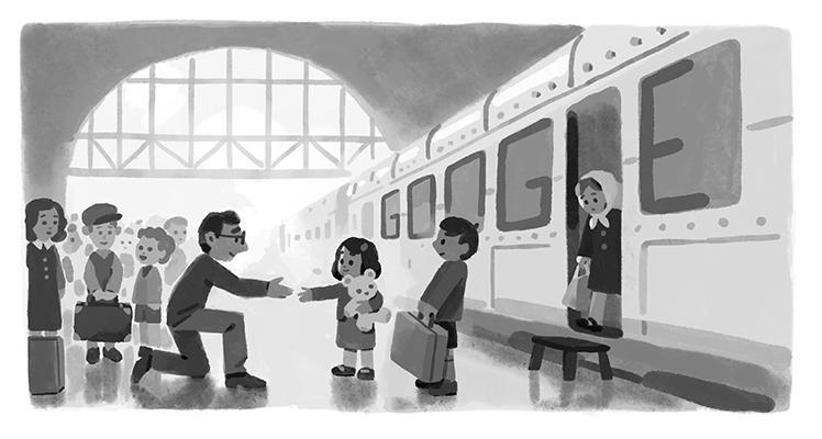 Sir Nicholas Winton: Google doodle marks birthday of 'Britain's Schindler' thumbnail