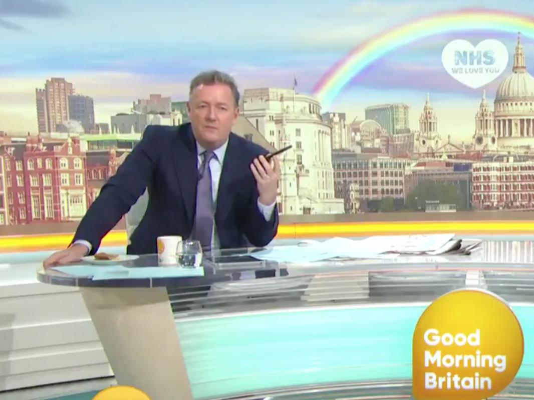 Piers Morgan says government 'lying through their back teeth' on coronavirus testing figures