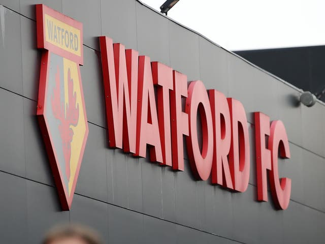 Watford fans arrive