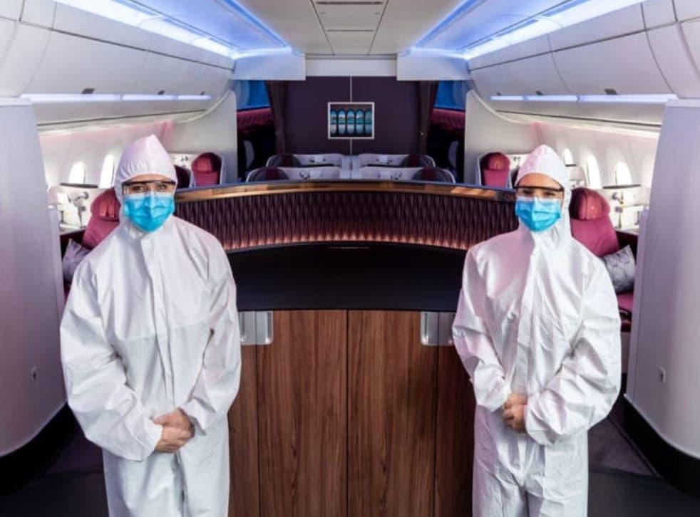 Qatar Airways' new look for cabin crew