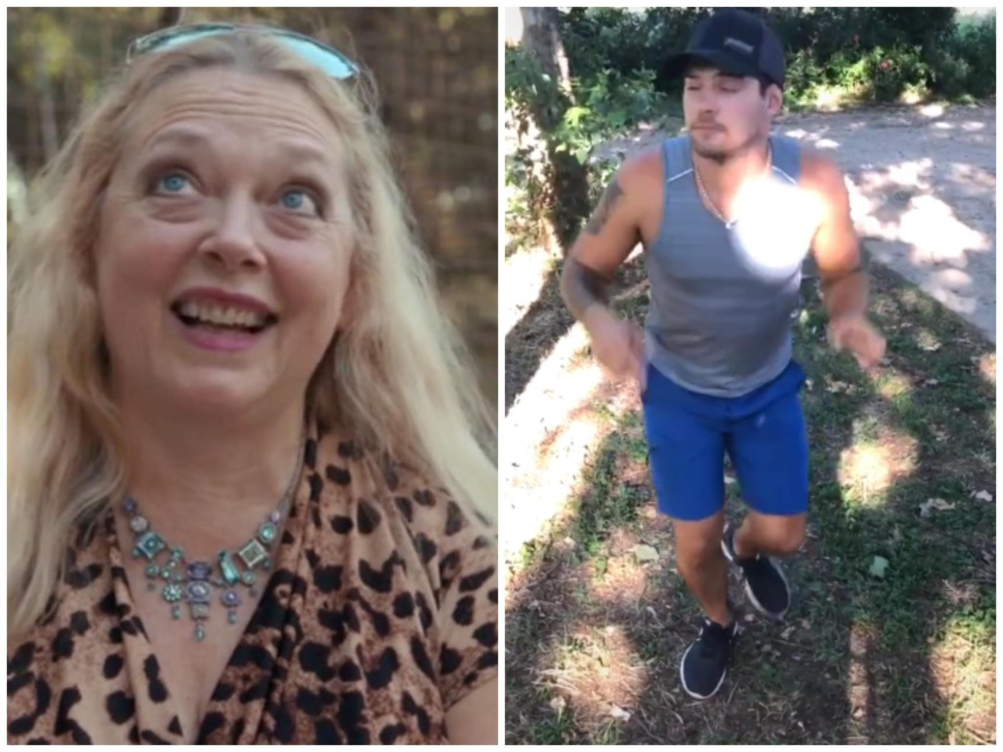 Tiger King fans react as Dillon Passage completes 'Savage' Carole Baskin TikTok challenge