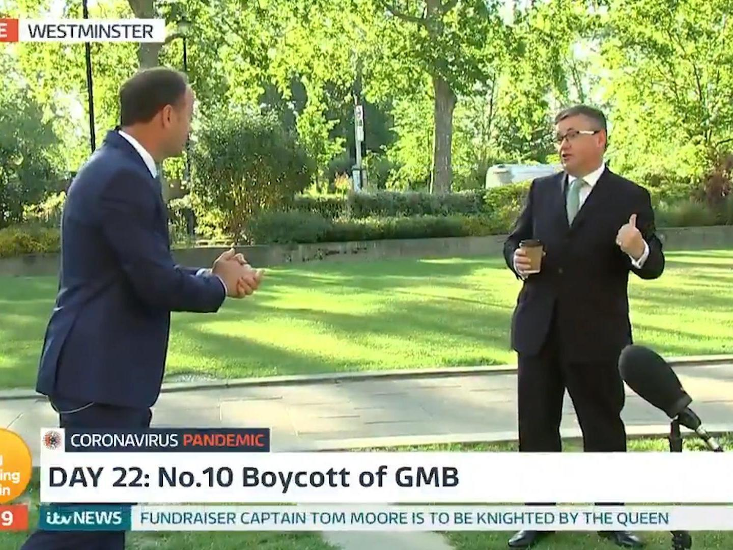 Government minister confronted on air by GMB reporter over cabinet refusing to appear on show