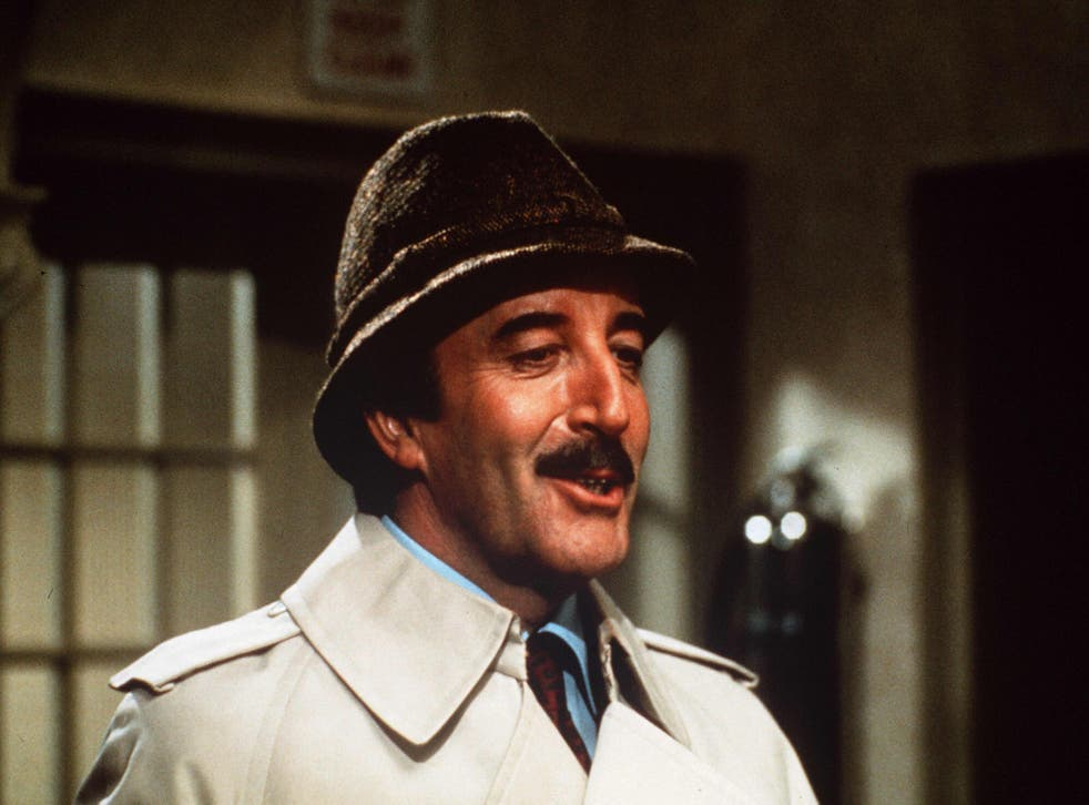 <p>Watching the defectives: Peter Sellers in 'The Pink Panther Strikes Again' (1976), one of his six outings as the bumbling Inspector Clouseau</p>