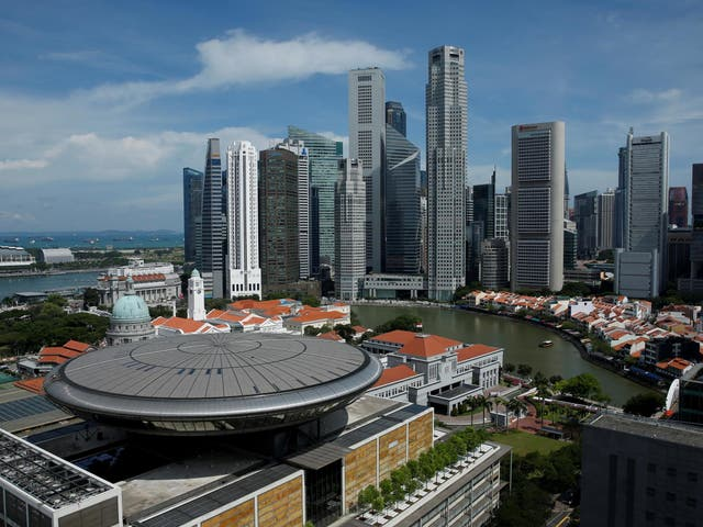 Singapore has seen record numbers of cases