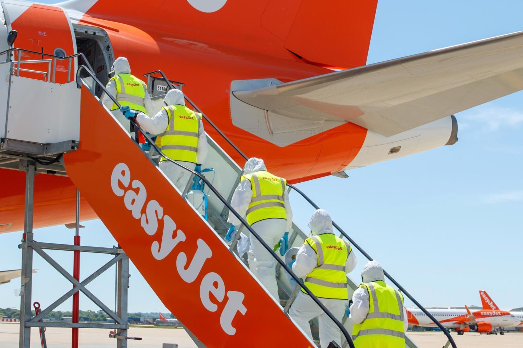 EasyJet to resume flying on 15 June