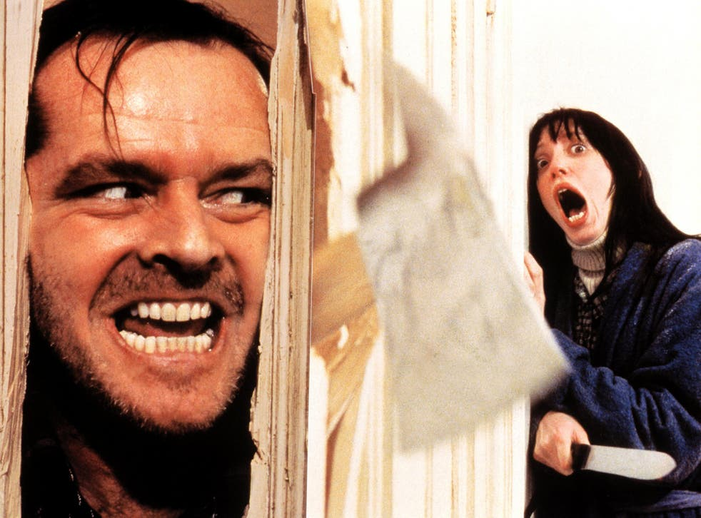 'Here's Johnny': the scene in which Jack Nicholson's madman hews through a bathroom door in search of wife Wendy (Shelley Duvall) has been imitated countless times throughout pop culture