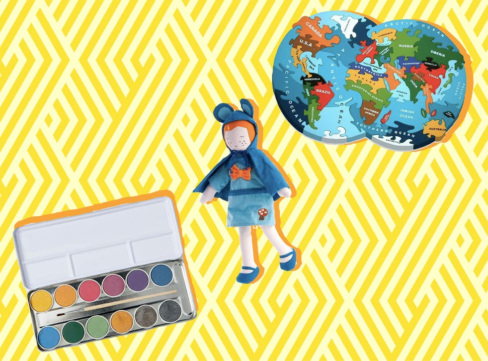 From watercolour paints to a bird feeding kit, engage your kid with these environmentally-friendly toys