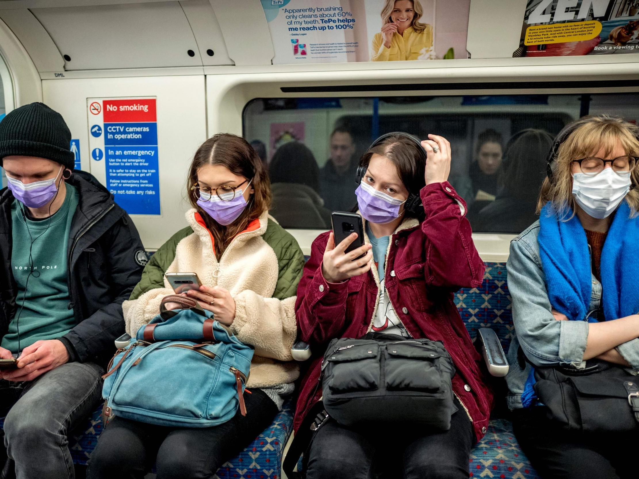 Coronavirus: London mayor Sadiq Khan considering making face masks mandatory on public transport