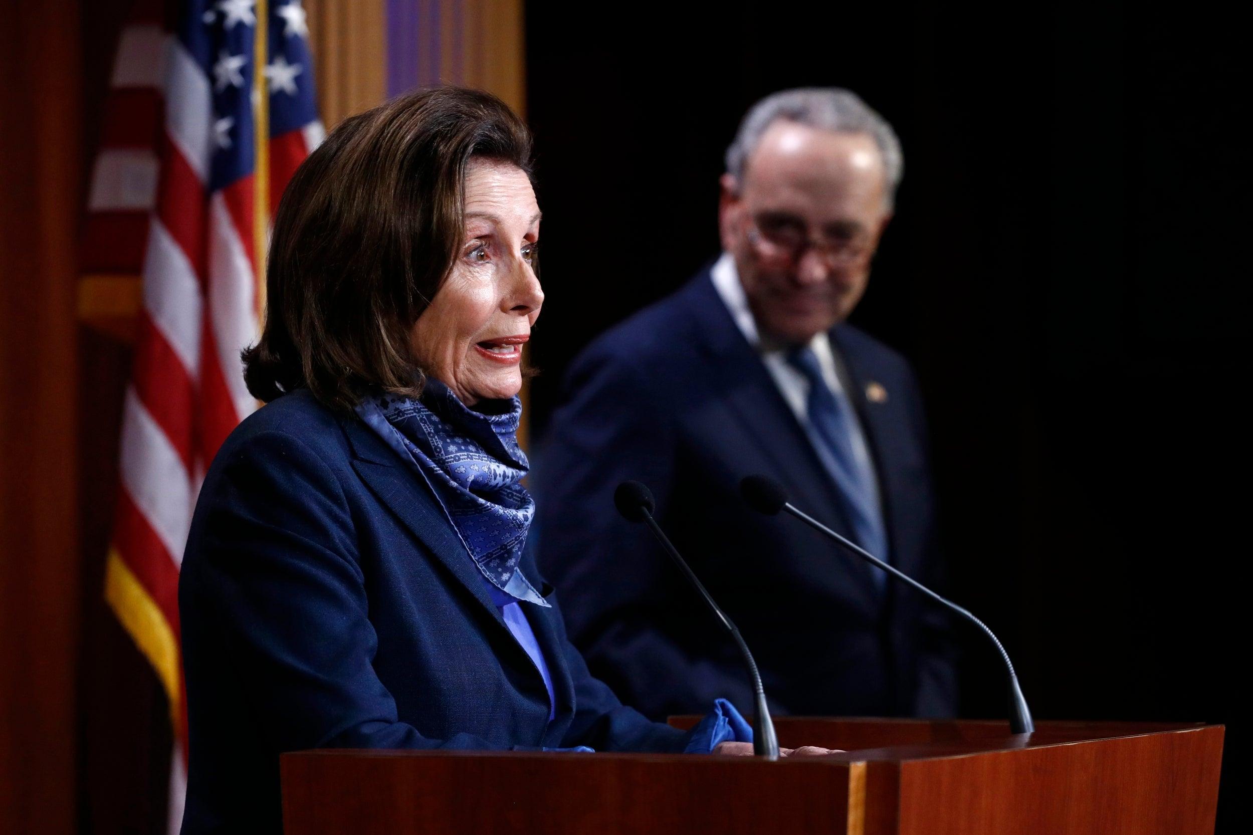 Coronavirus: Democrats send letter to Trump demanding flags fly at half mast when US hits 100,000 deaths