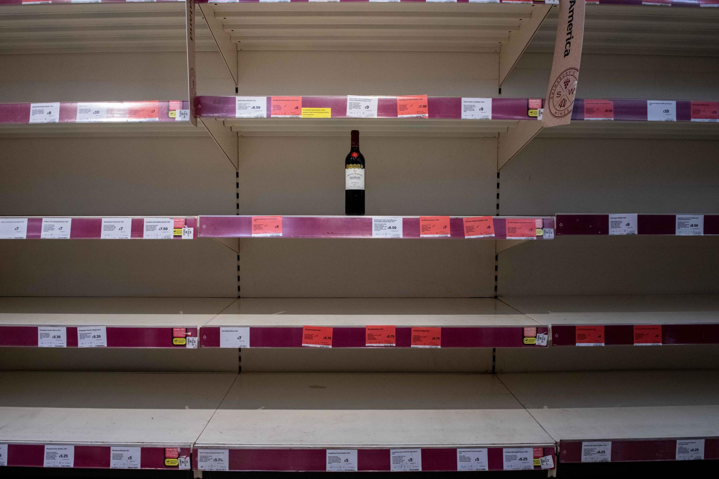 UK supermarket sales surged at fastest pace on record during coronavirus lockdown