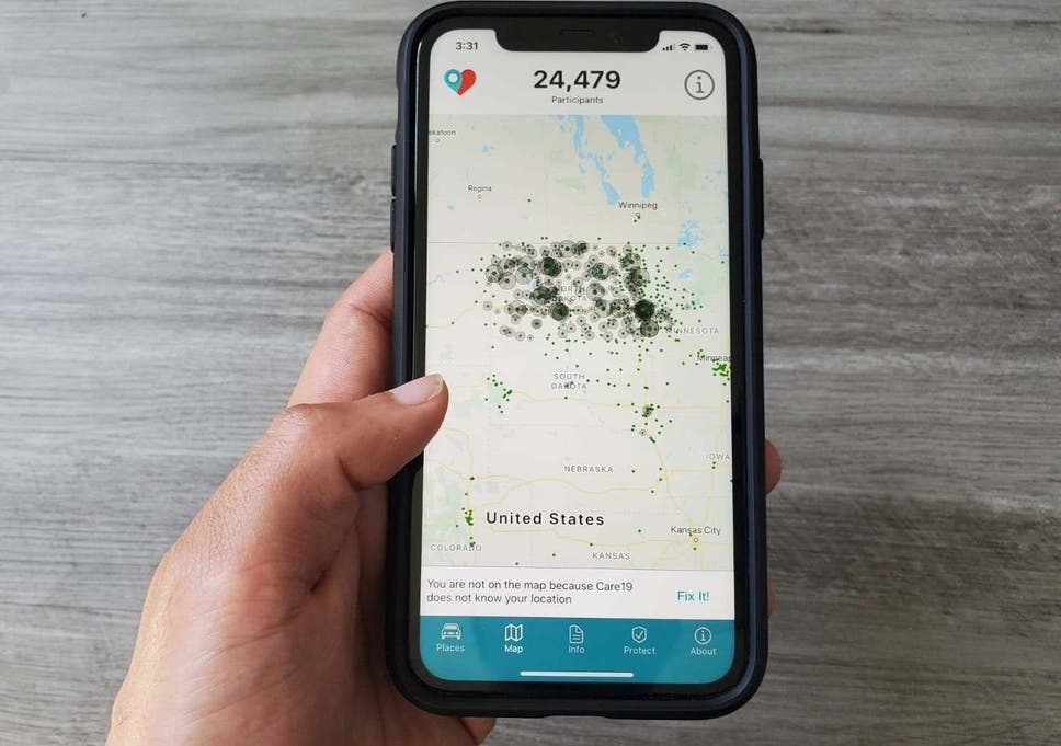 Care19, the contact tracing app which the governors of North Dakota and South Dakota asked residents to download, has been found to breach its own privacy rules