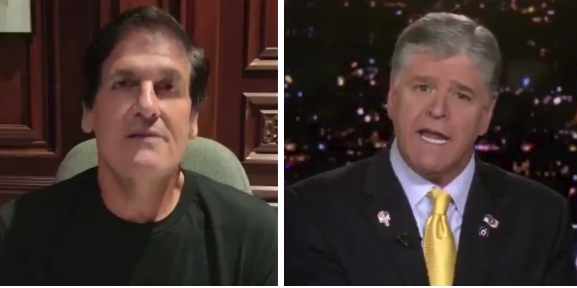 Sean Hannity left speechless after Fox News guest turns on Trump