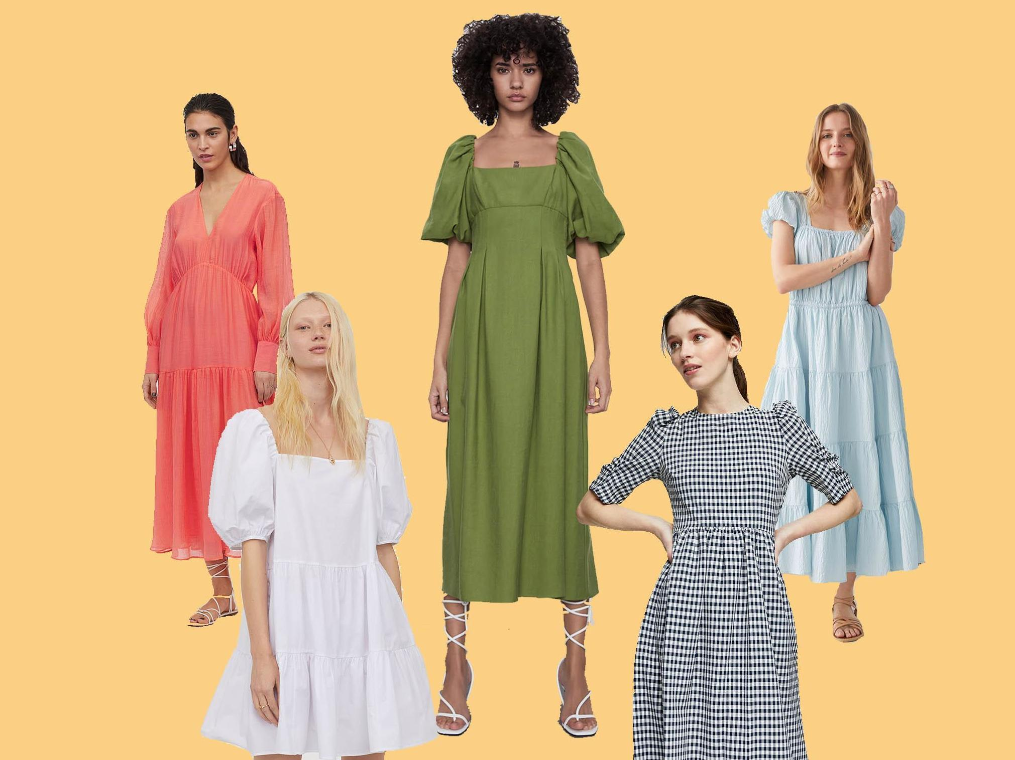 Floaty summer dresses that are perfect for life in lockdown