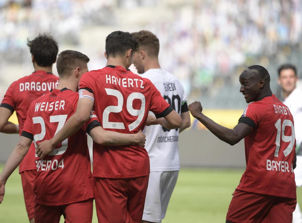 Stats have shown increased efficiency in finishing in the top Bundesliga teams