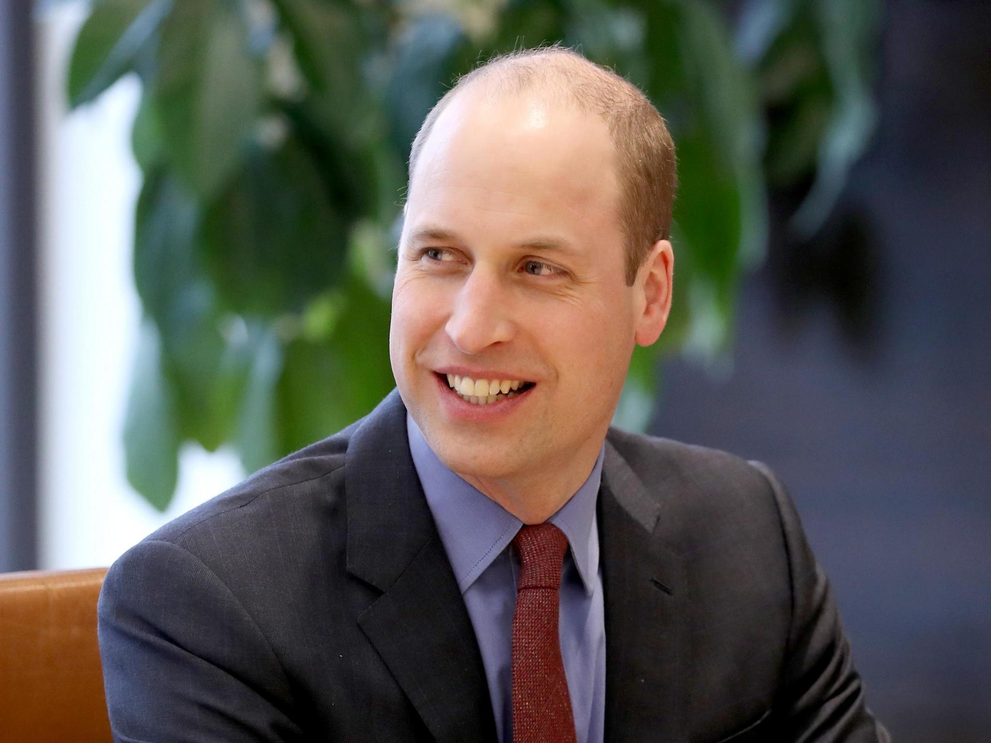Prince William records mental health message for national church service