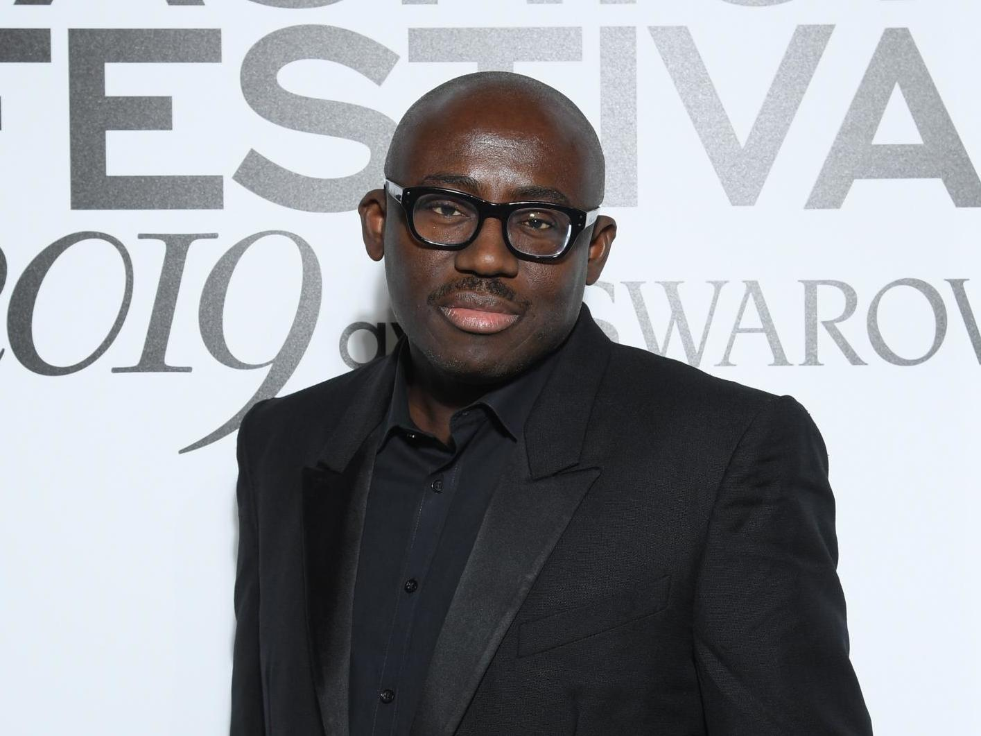 British Vogue editor Edward Enninful says magazine appeared 'stand-offish' and 'cold' before he took over