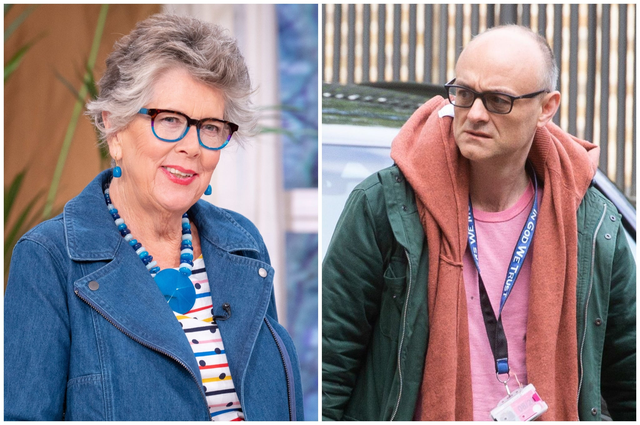 Prue Leith defends Dominic Cummings over lockdown row and calls for 'kindess'