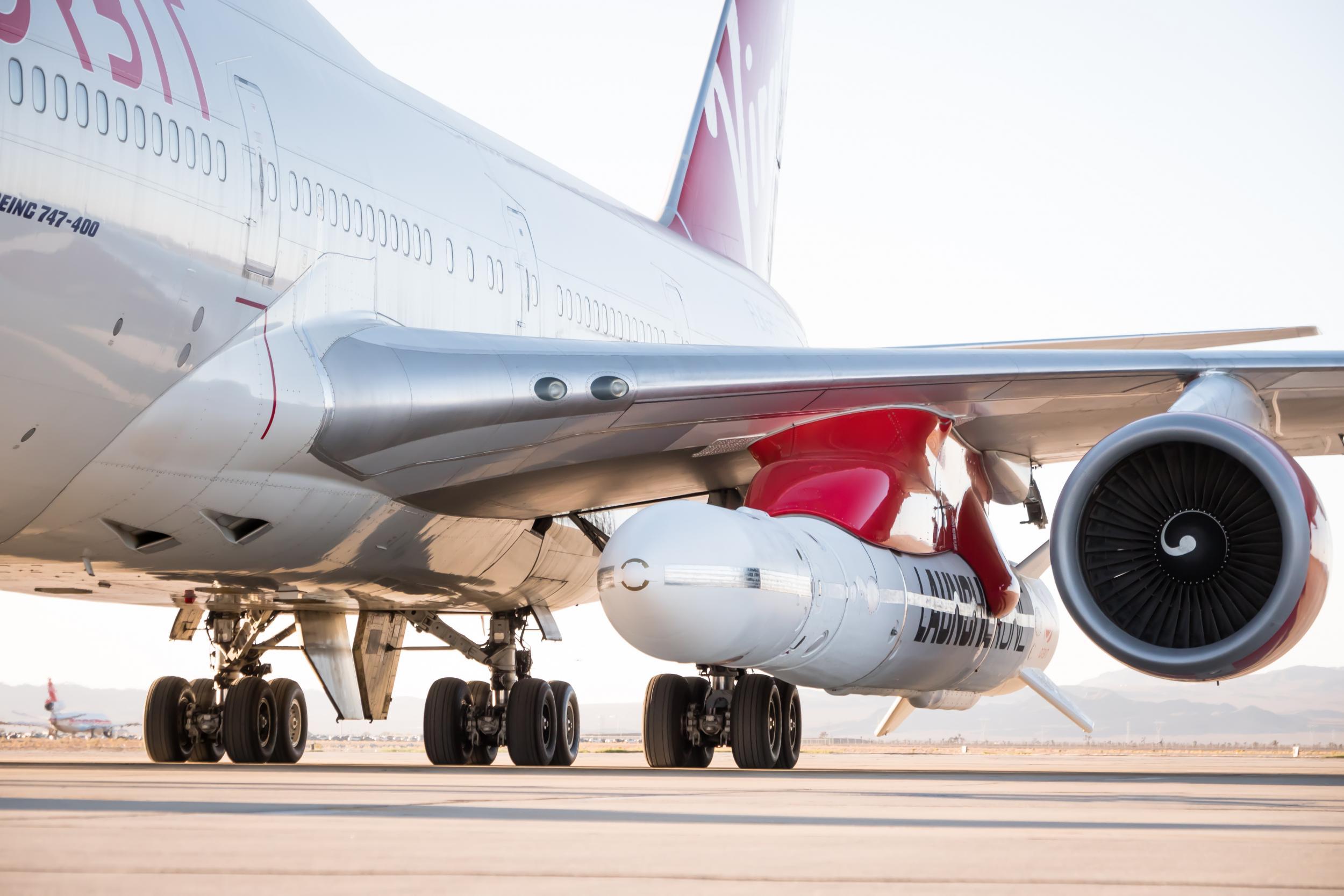 Virgin Orbit's first rocket launch over Pacific Ocean hits snag