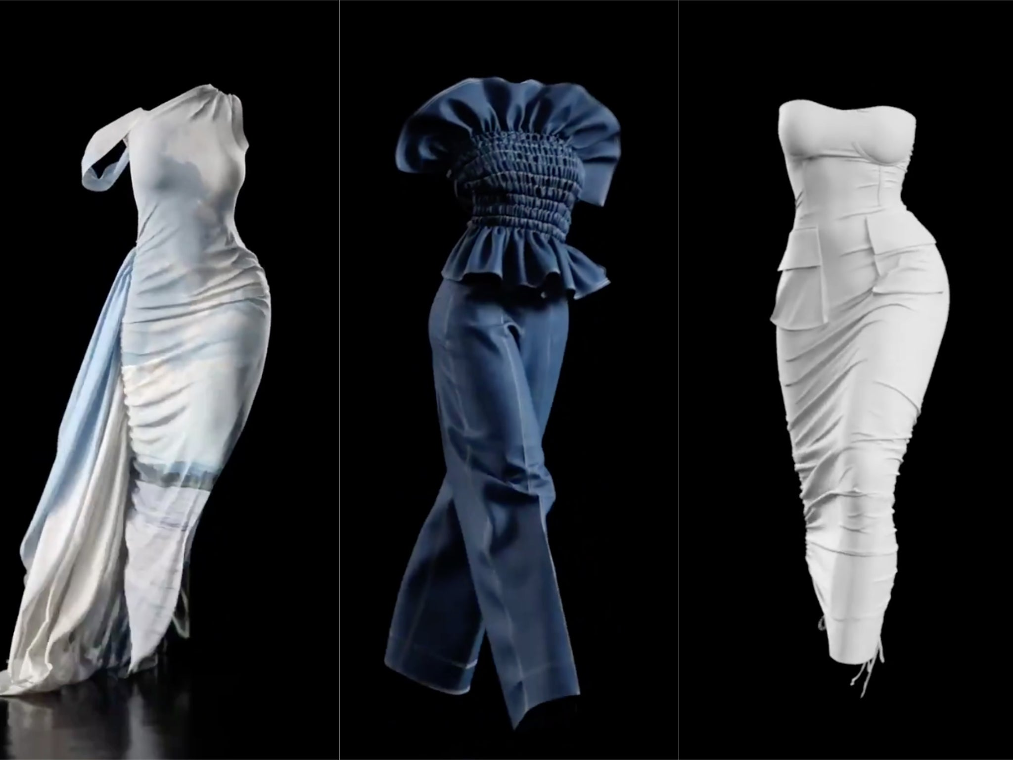 Fashion label Hanifa puts on 'groundbreaking' virtual show using 3D models