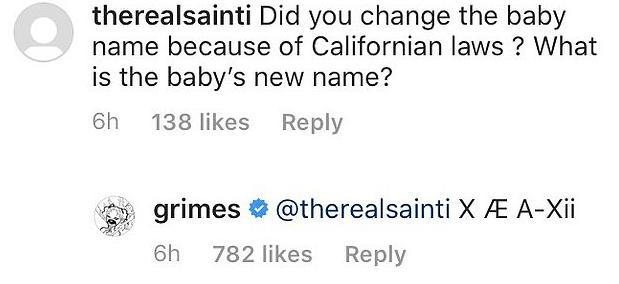 Elon Musk e Grimes mudaram o nome do bebê e é ainda mais complicado do que antes