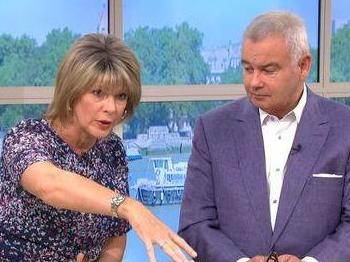 This Morning host Ruth Langsford confronted supermarket shopper for breaking lockdown guidance