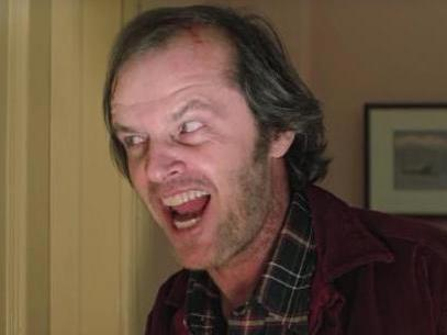 Resurfaced video shows Jack Nicholson gearing up to film The Shining's terrifying axe scene