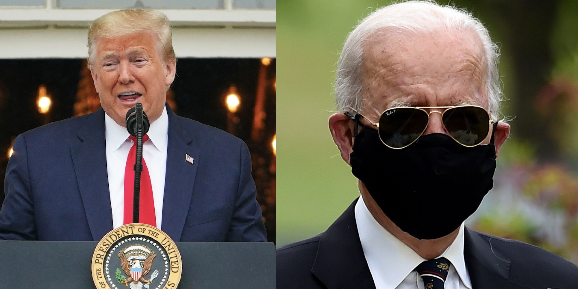 Trump is now mocking people for wearing face masks even at Memorial Day events