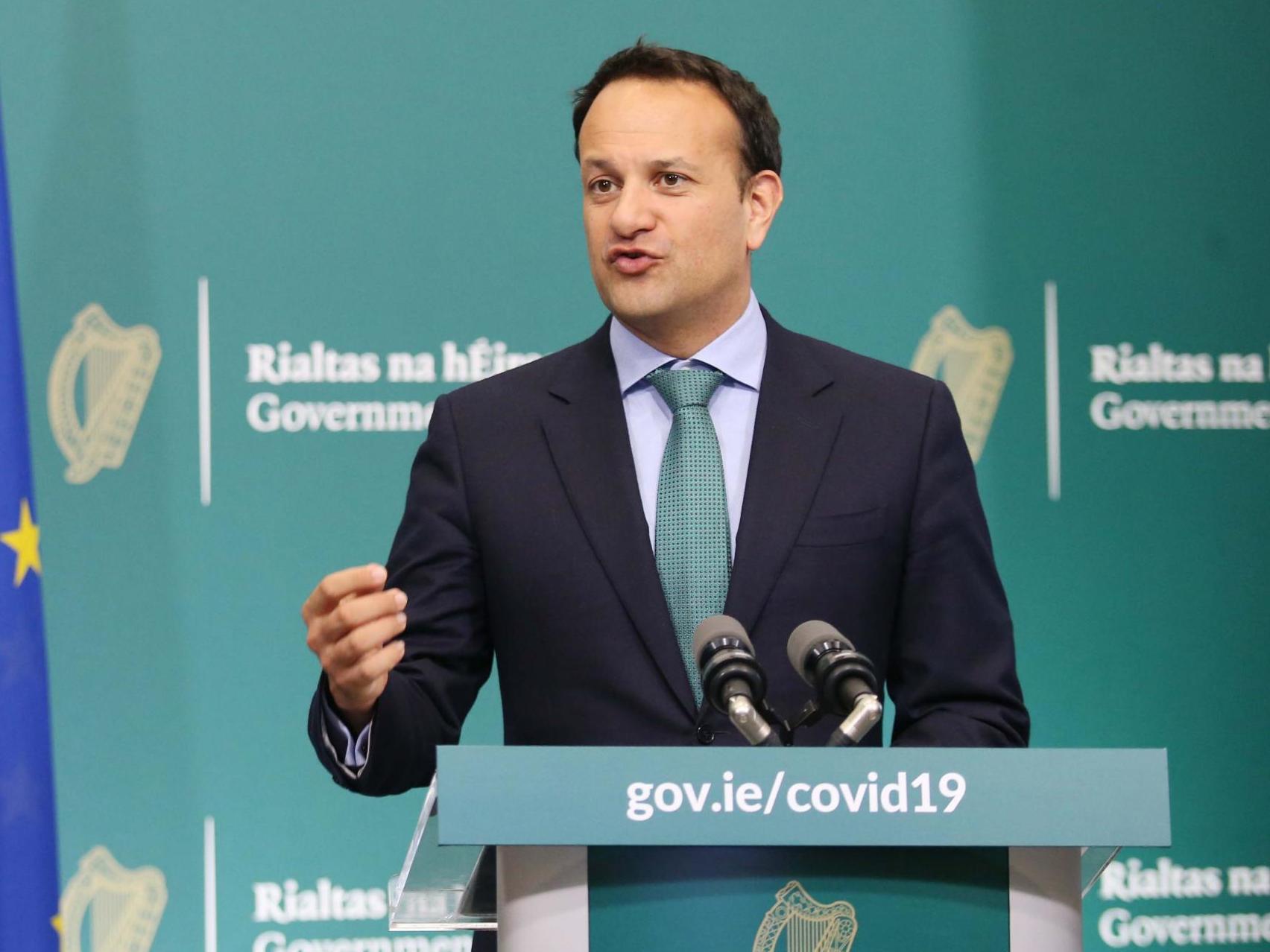 Leo Varadkar: Irish premier denies Dublin park 'picnic' broke lockdown regulations