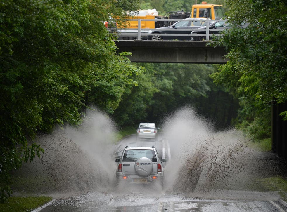 Fragments off vehicle tyres are finding their way into rivers, streams and seas