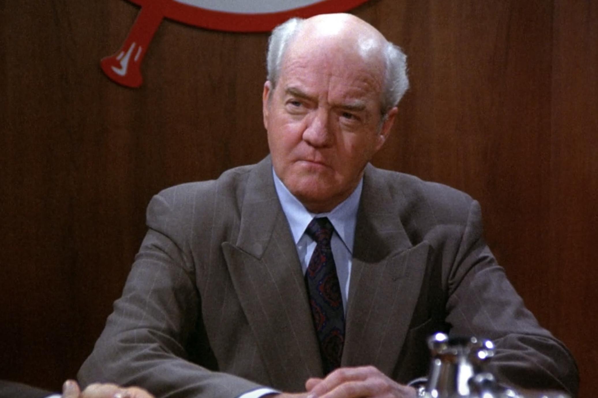 Richard Herd death: Actor who played Mr Wilhelm on 'Seinfeld' dies aged 87