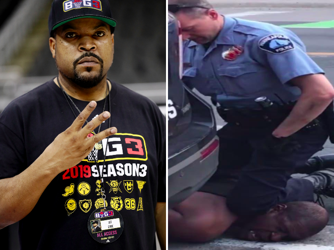Ice Cube tweets about 'striking back' after death of unarmed black man in Minneapolis sparks outrage