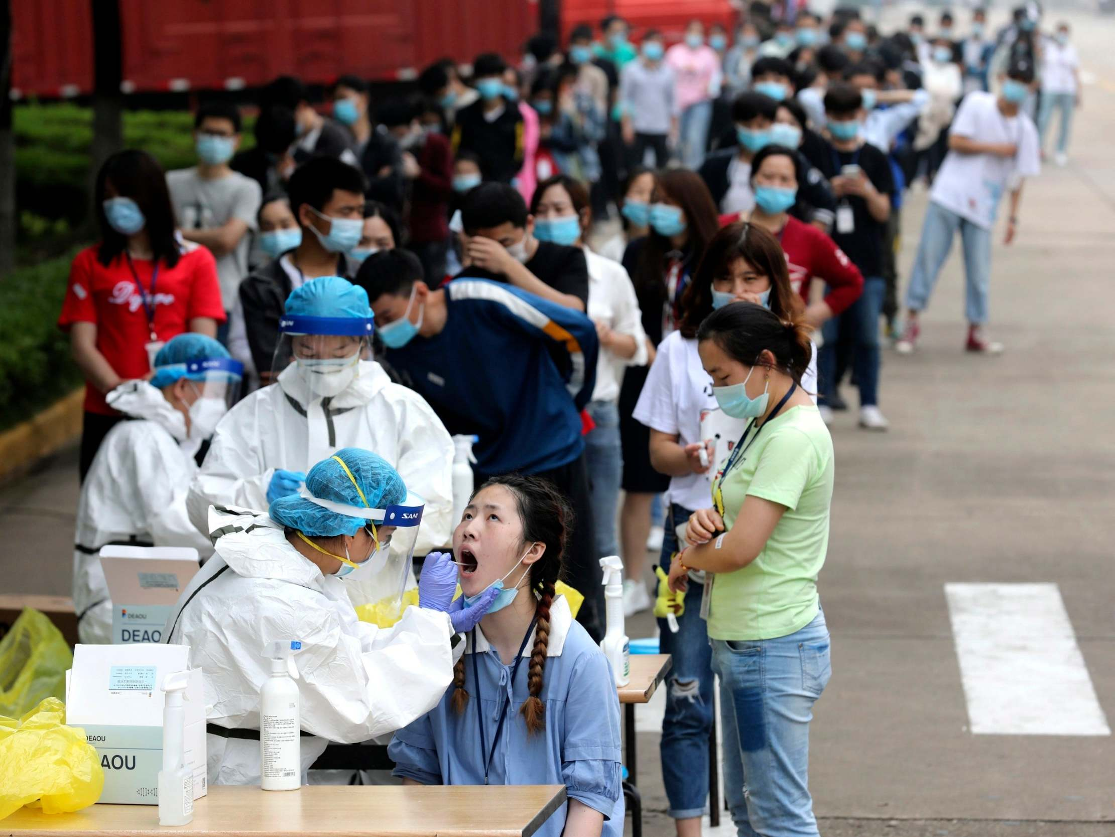 Coronavirus: How did Wuhan test 6.5 million people in a matter of days?