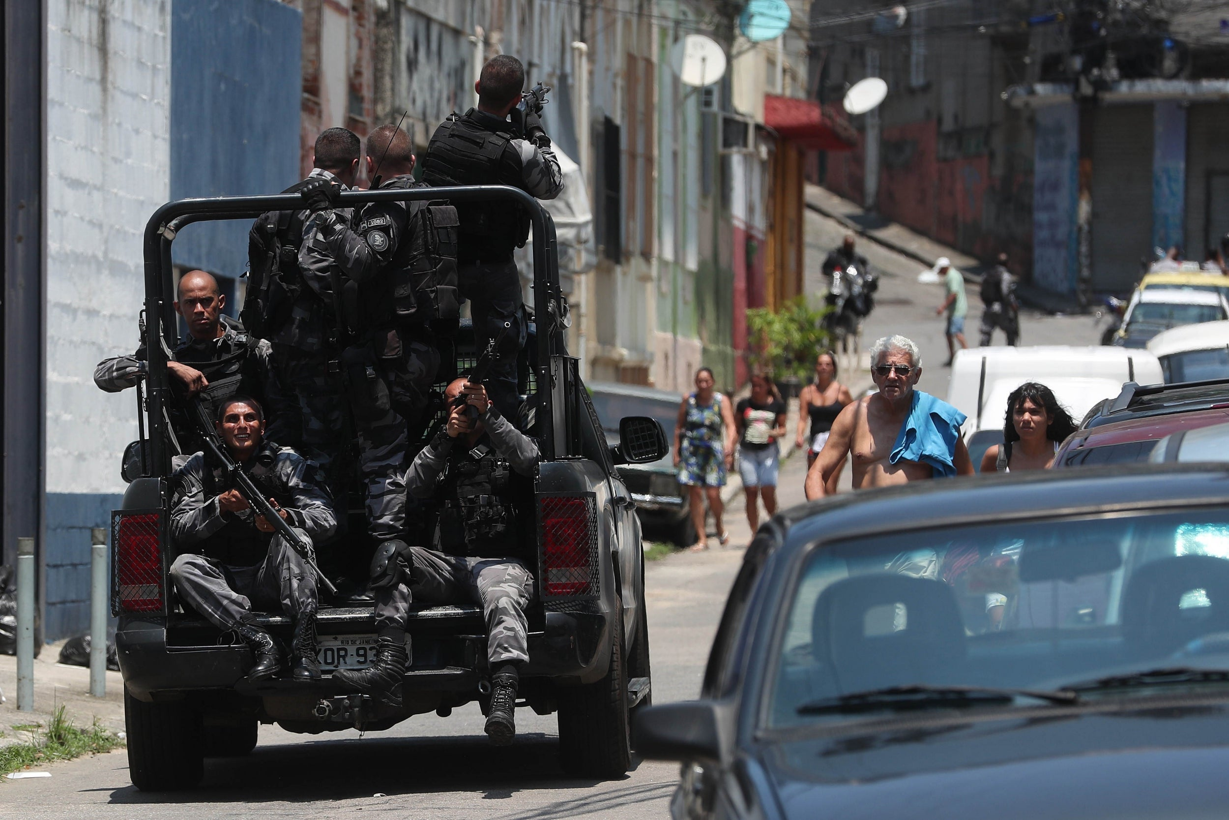 'Die in the streets like cockroaches': The truth behind Rio's record year of police killings
