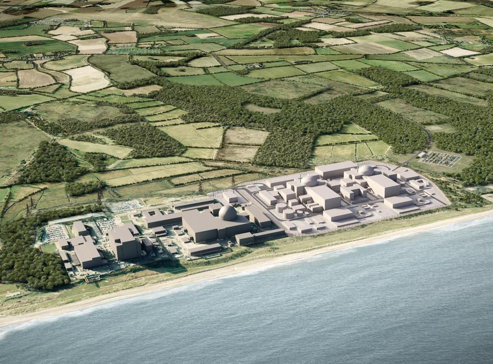 The proposed Sizewell C nuclear power plant would neighbour protected nature reserves