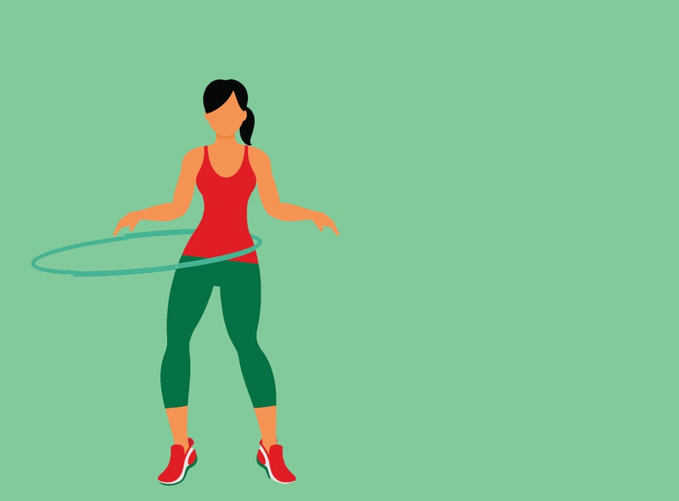 Best weighted hula hoops for improving your core fitness | The Independent