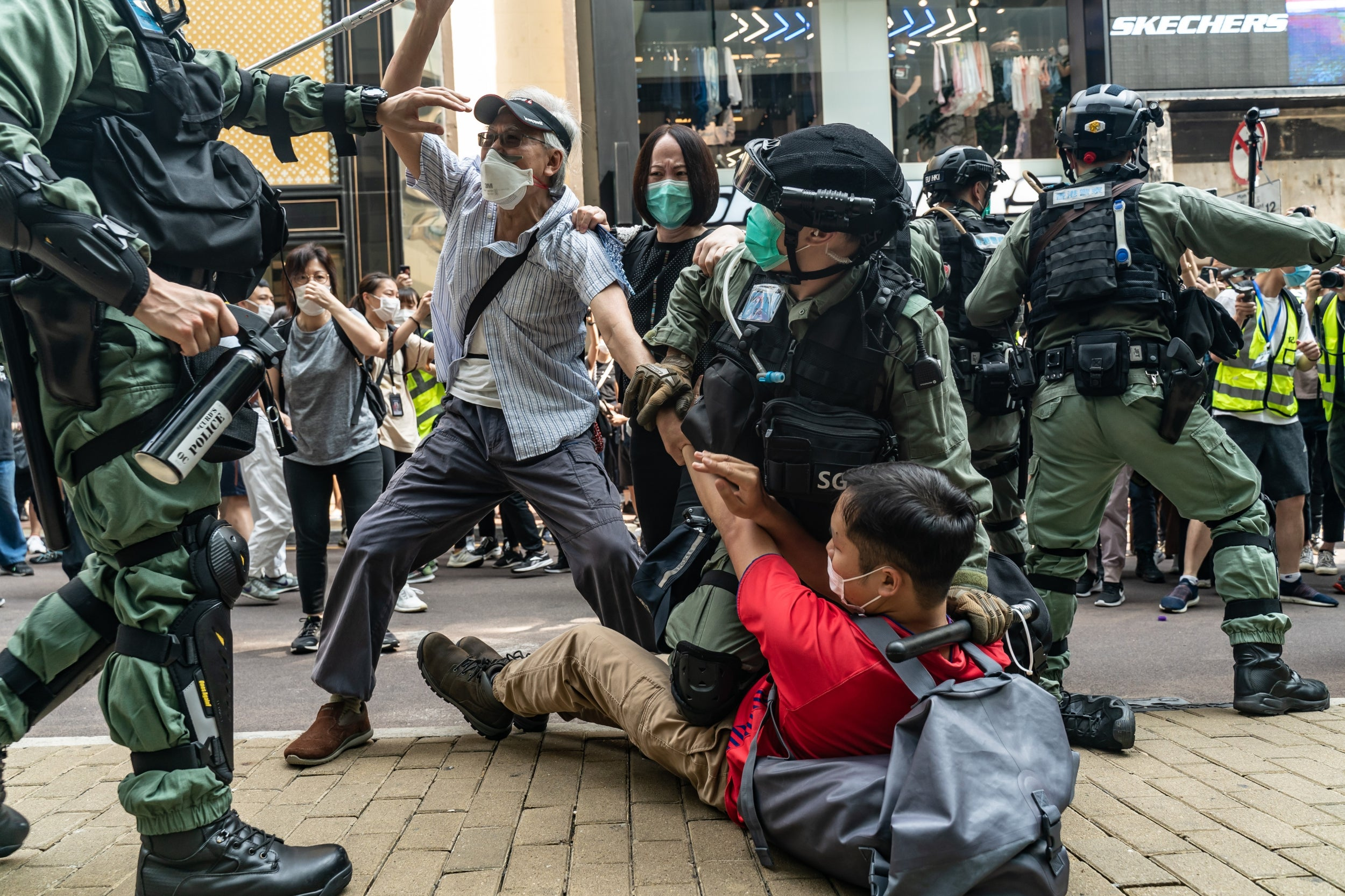 Trump administration says Hong Kong no longer independent from China as tension with US grows