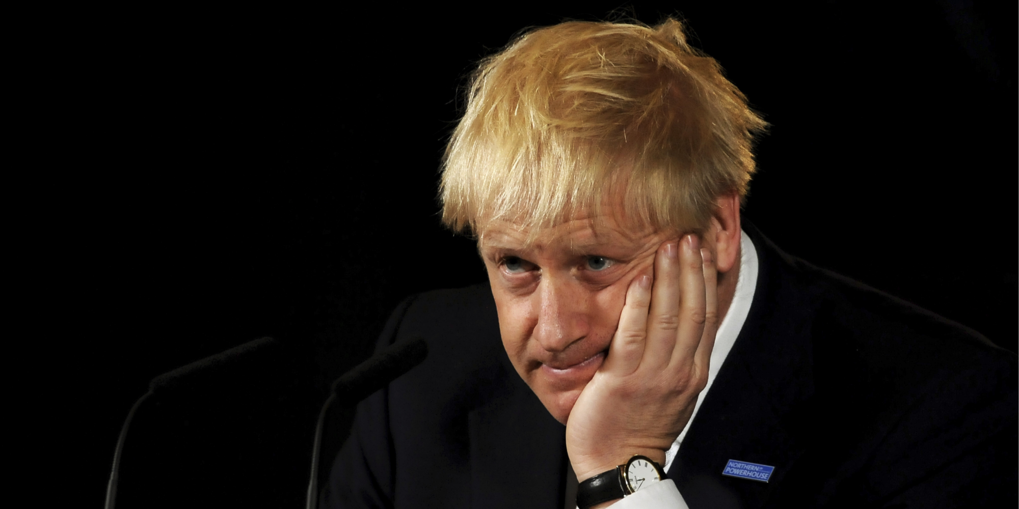 Boris Johnson just said he's been 'forbidden' from making new targets and people reminded him he's literally the PM