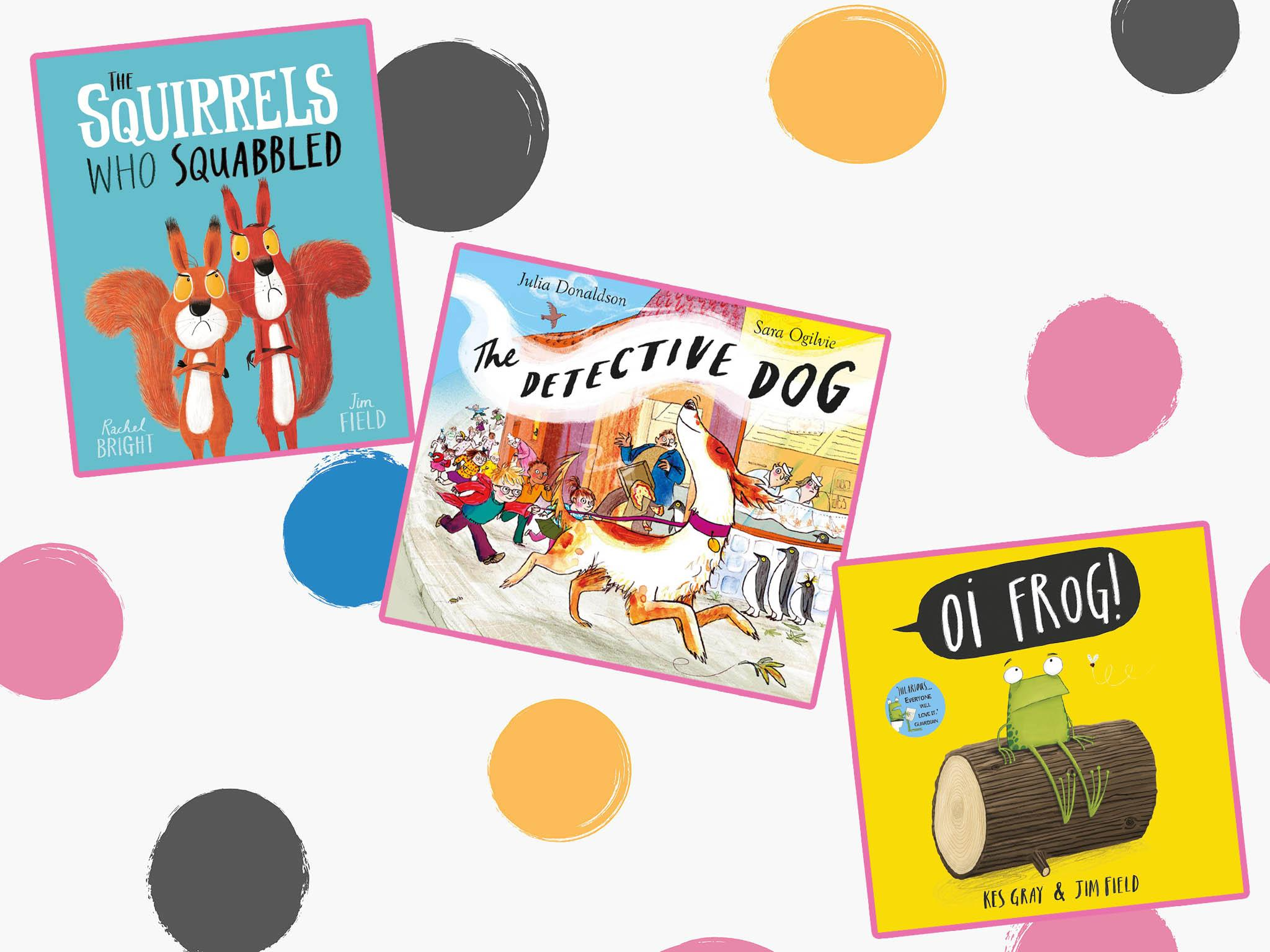 kids picture books    fives entertained