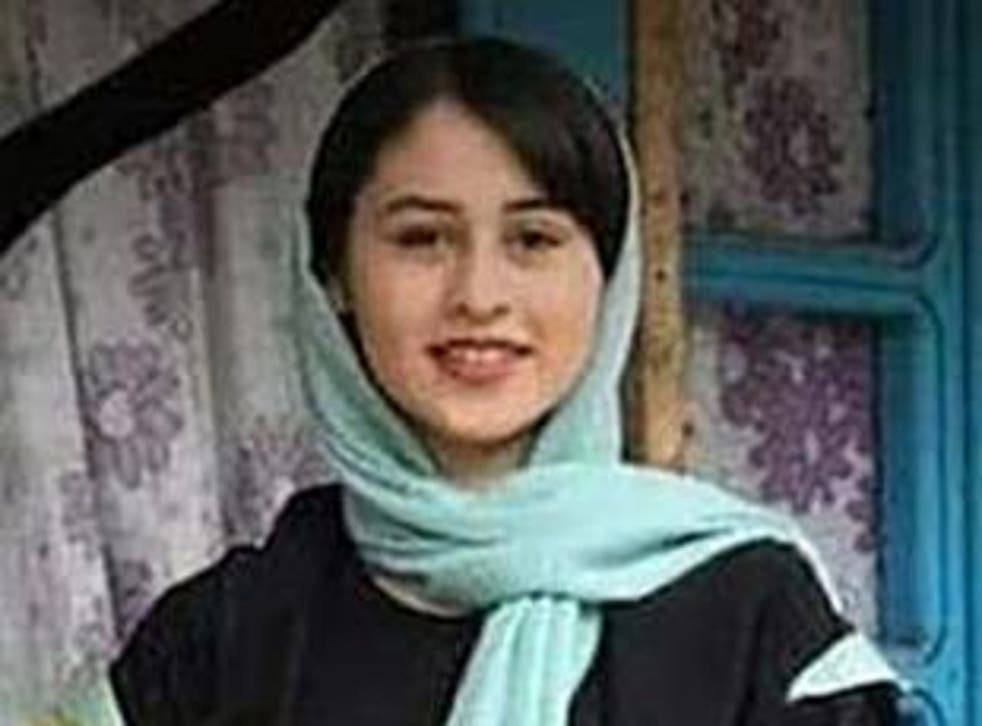 Thousands of Iranians used the hashtag #RominaAshrafi to condemn the murder