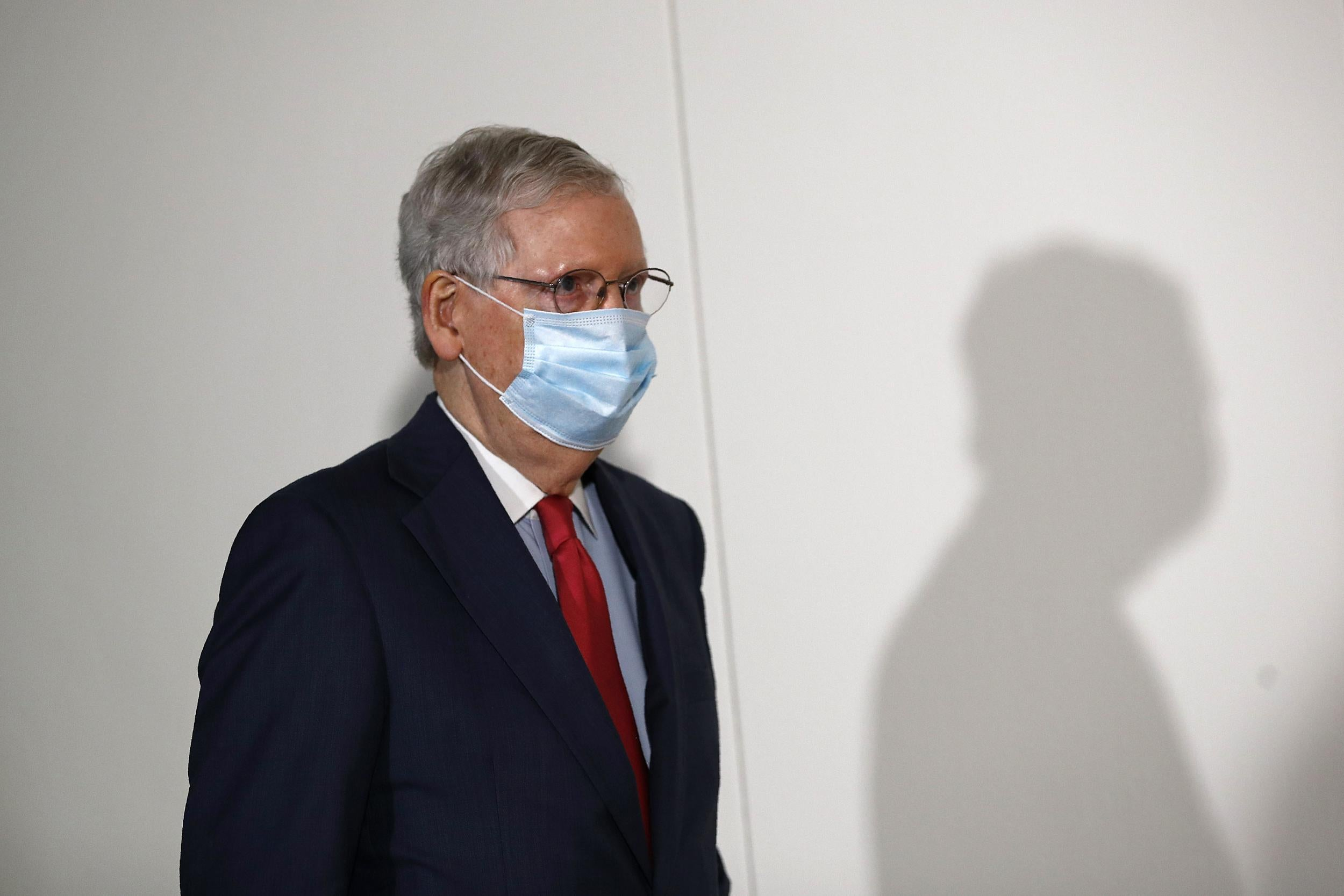 'There should be no stigma': Mitch McConnell stresses importance of wearing a mask in public