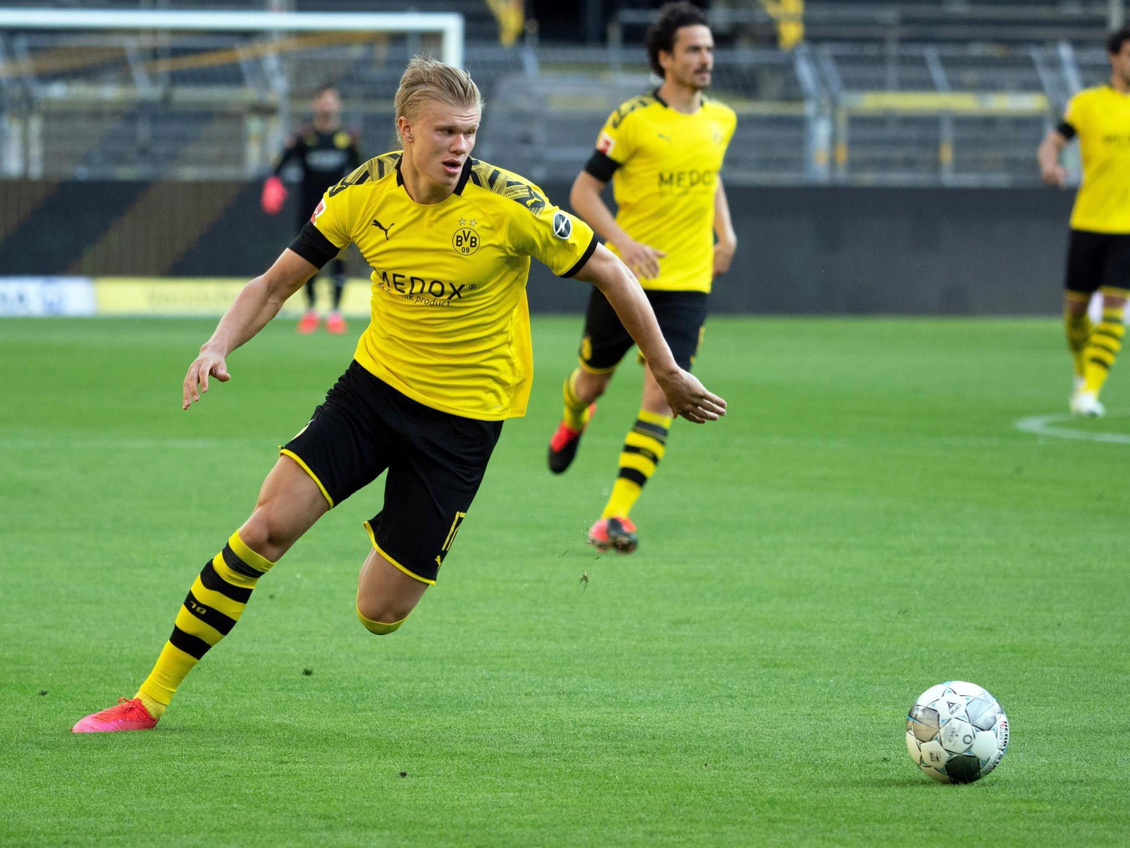 Erling Haaland to miss Borussia Dortmund's Bundesliga fixture with Paderborn