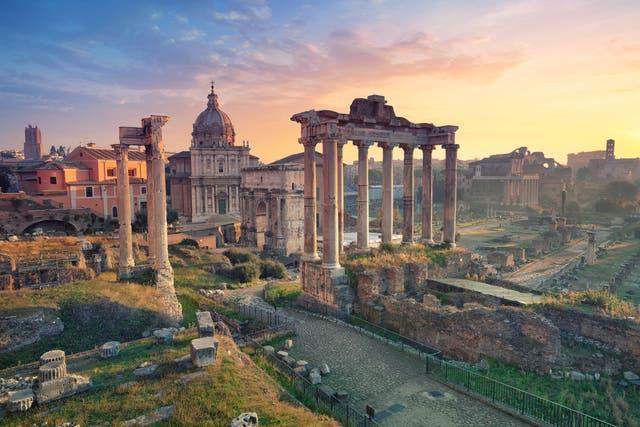 <p>Roman Forum</p>