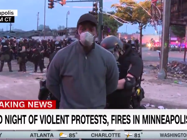 CNN journalist and his crew were arrested in Minneapolis and later released