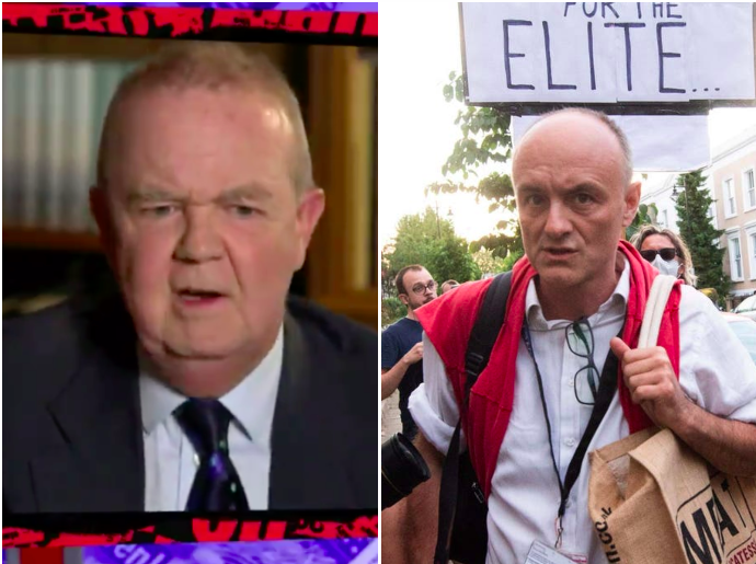 Have I Got News For You: Viewers praise Ian Hislop for 'absolutely ripping into' Dominic Cummings