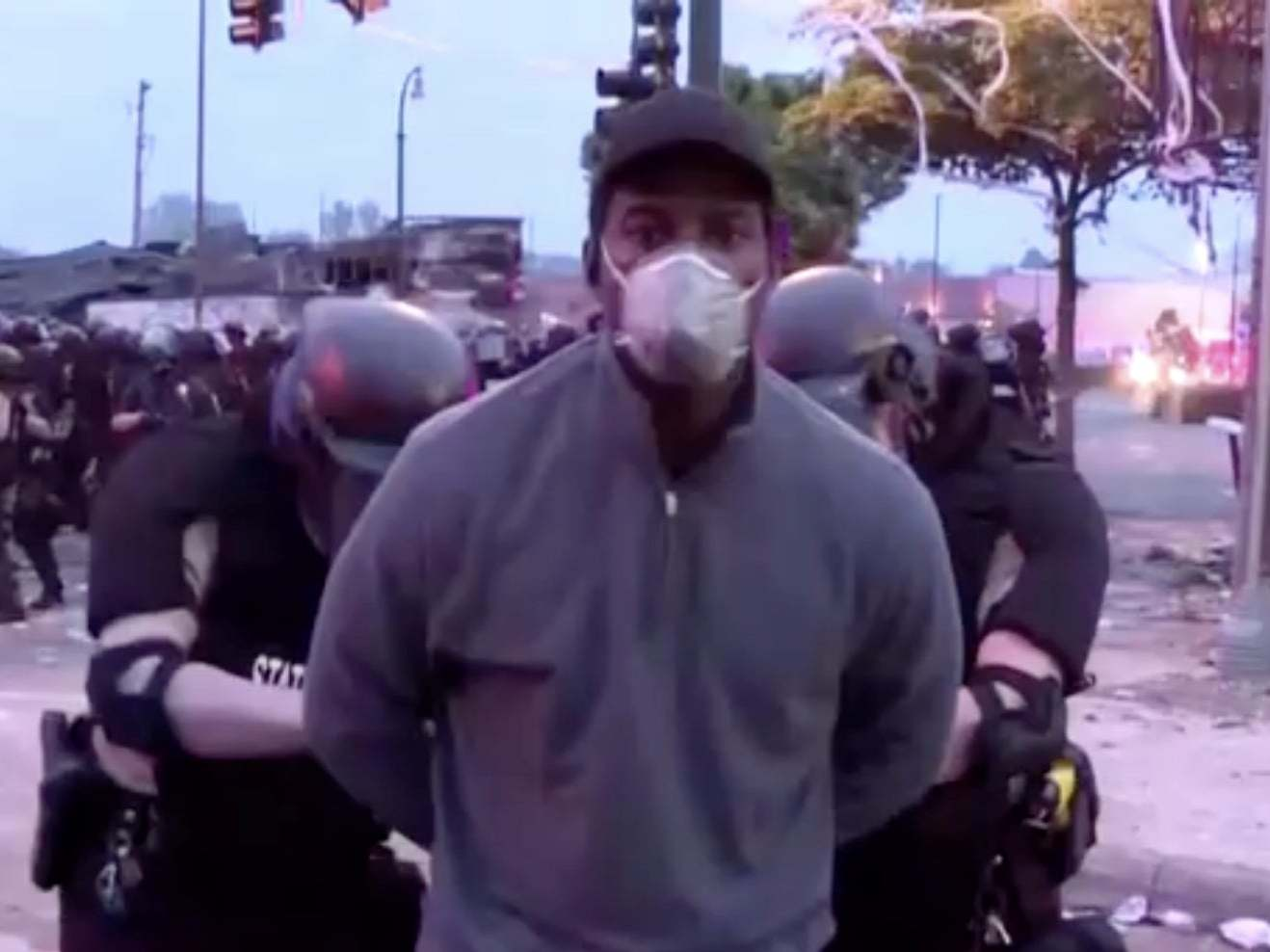 George Floyd protests: CNN reporter arrested live on air still not given a reason upon release