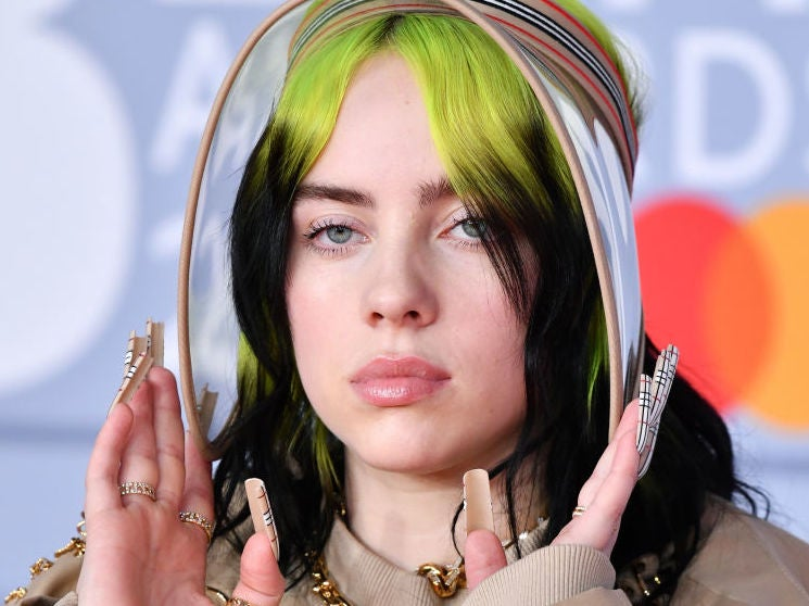 Billie Eilish says white people who insist 'all lives matter' should 'shut the f**k up'