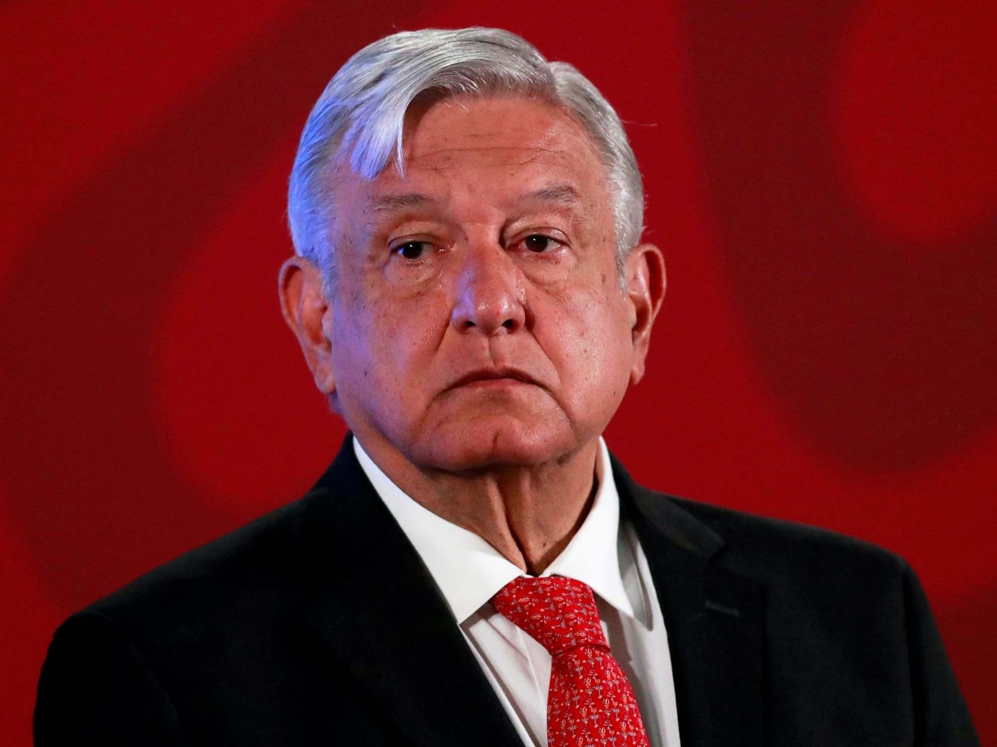 Mexican president says most domestic violence calls are 'fake' despite lockdown rise in femicide