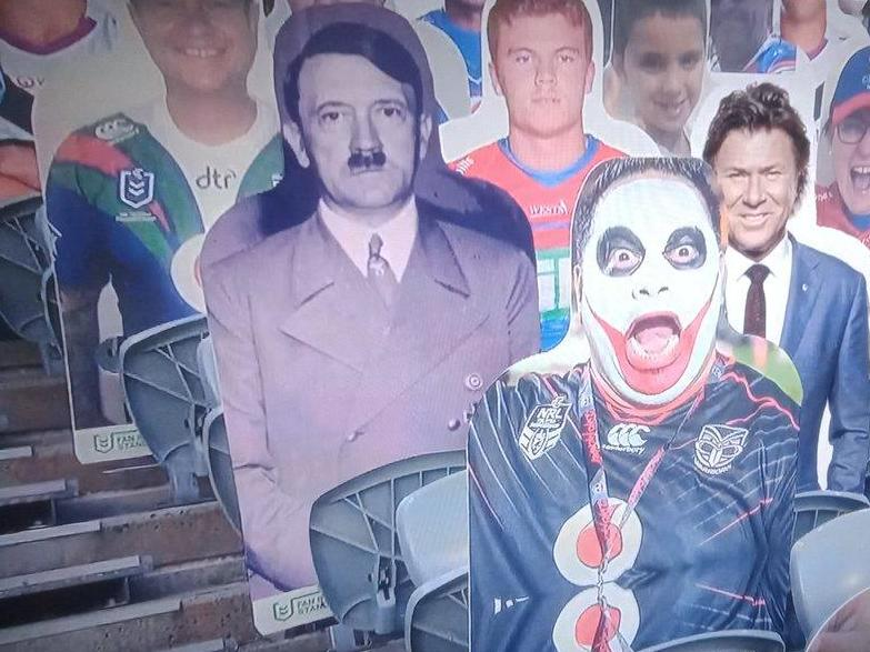 Fox Sports Australia apologises for broadcasting image of Adolf Hitler during NRL show