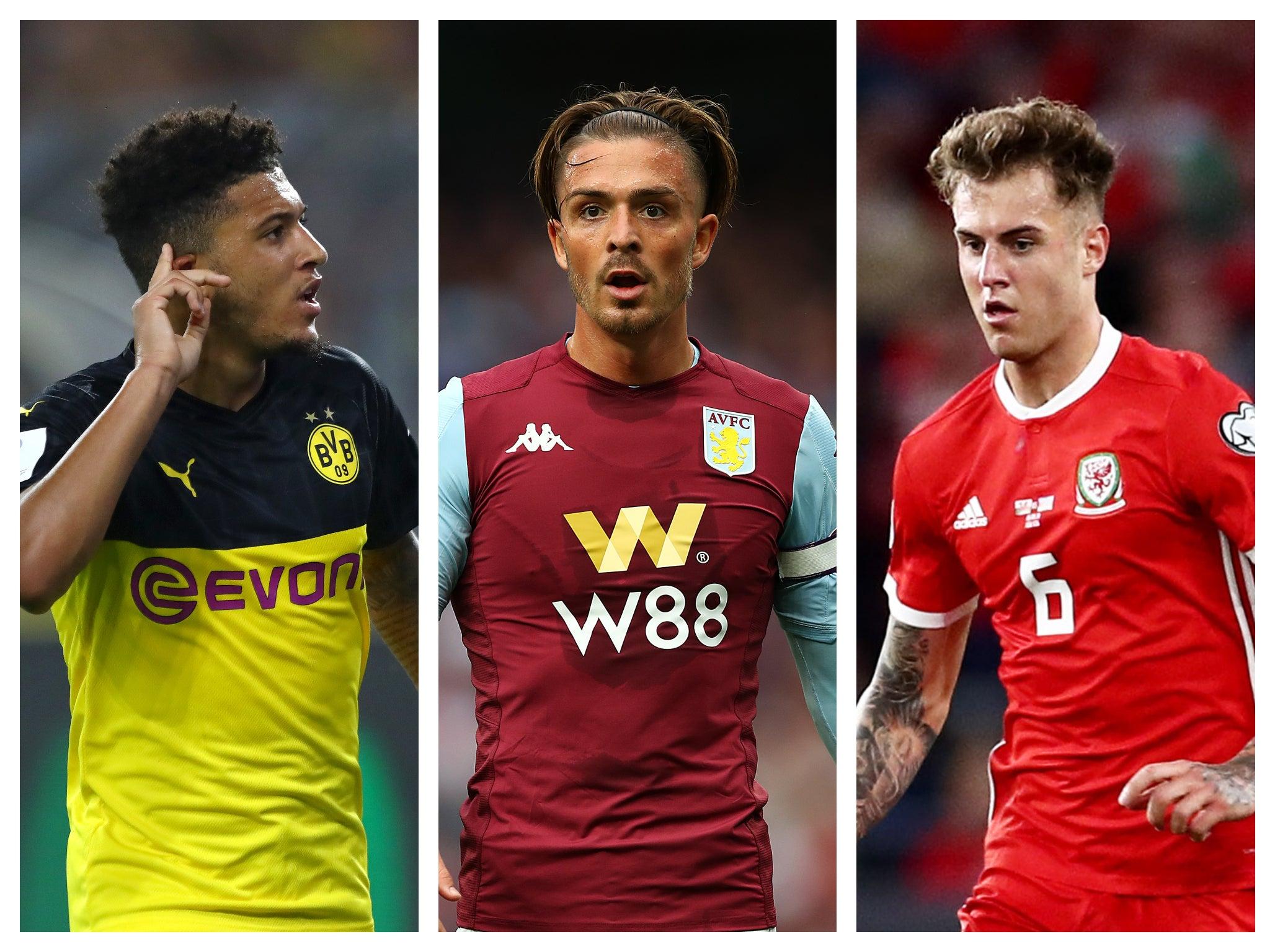 Revealed: Manchester United's summer transfer priority list including Jadon Sancho, Jack Grealish and Joe Rodon