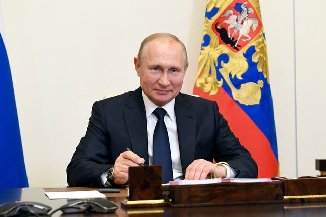 Putin has embarked on actions which collide with western interests